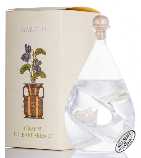 Marolo Grappa di Barbaresco Twist Karaffe 42% vol. 0,50l