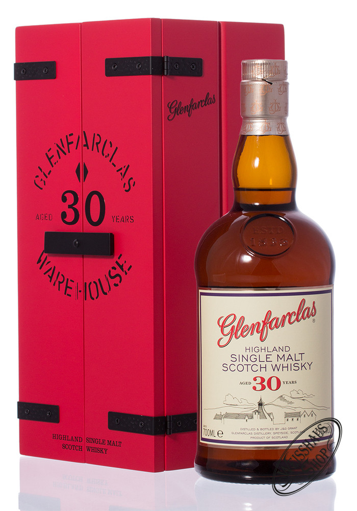 Glenfarclas 30 YO Single Malt Whisky 43% vol. 0,70l