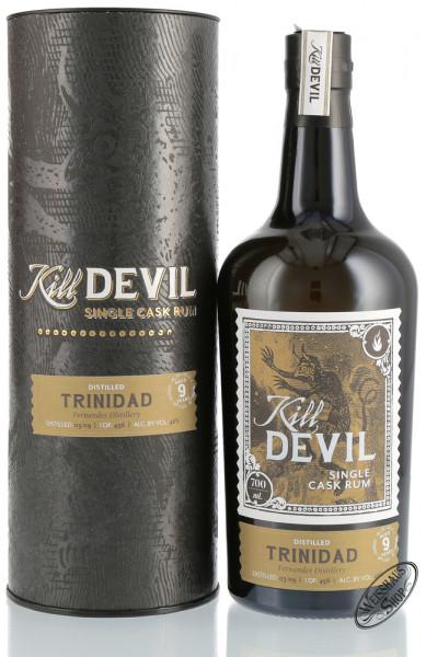 Kill Devil Trinidad 9 YO Single Cask Rum 46% vol. 0,70l