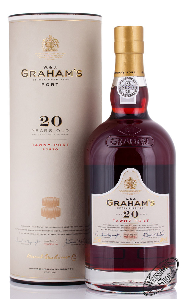 Graham's 20 YO Tawny Port 20% vol. 0,75l