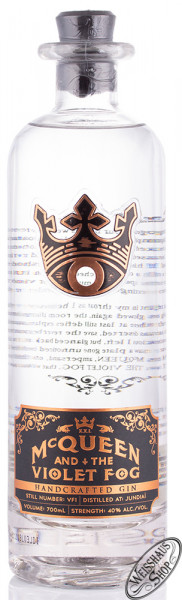 McQueen and the Violet Fog Gin 40% vol. 0,70l
