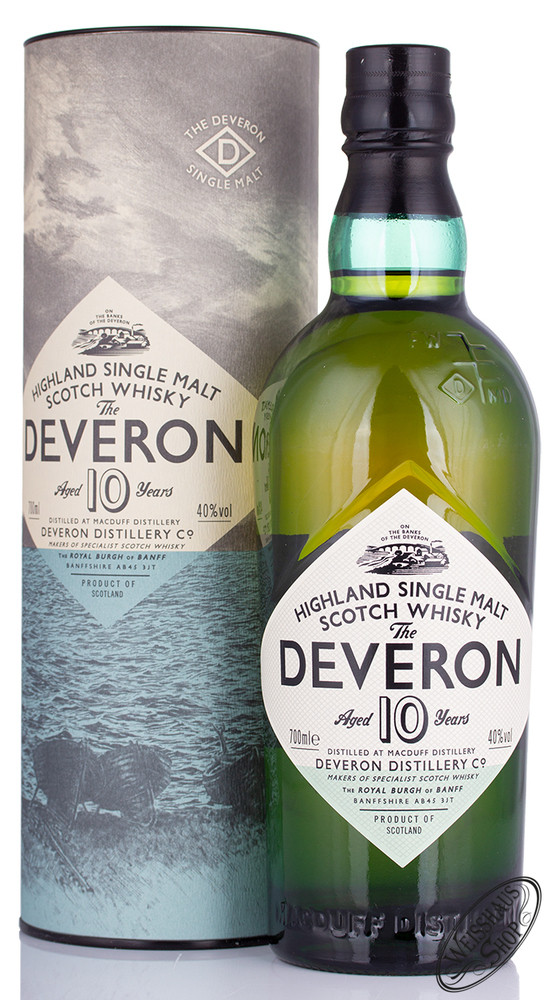The Deveron 10 YO Whisky 40% vol. 0,70l