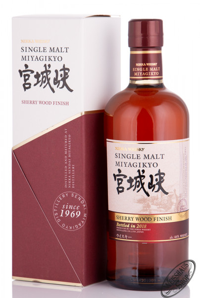 Nikka Miyagikyo Sherry Wood Finish Whisky 46% vol. 0,70l