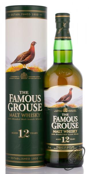 The Famous Grouse 12 YO Whisky 40% vol. 0,70l