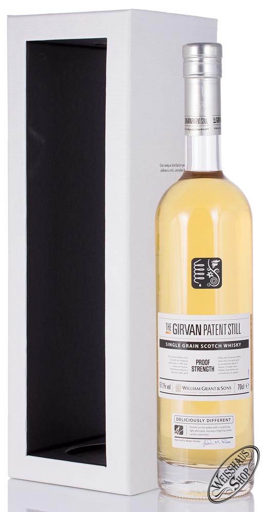 William Grant & Sons The Girvan Patent Still Proof Strength Single Grain Whisky 57,1% vol. 0,70l