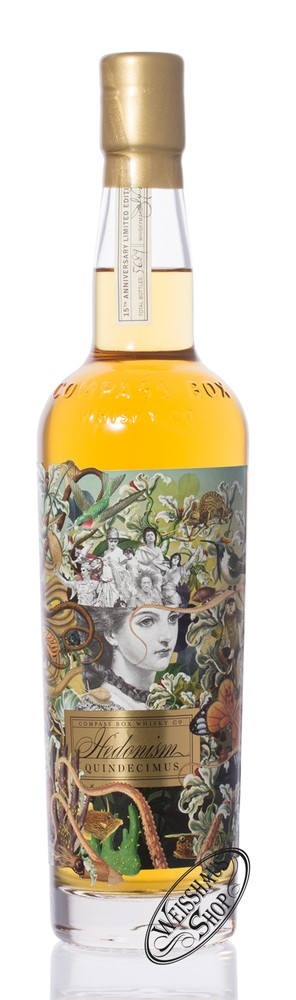 Compass Box Hedonism Quindecimus Blended Whisky 46% vol. 0,70l