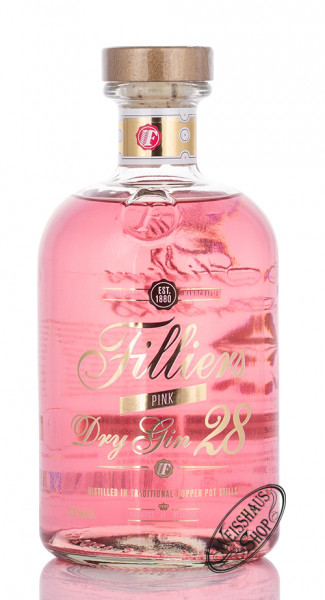 Filliers Dry Gin Pink 37,5% vol. 0,50l