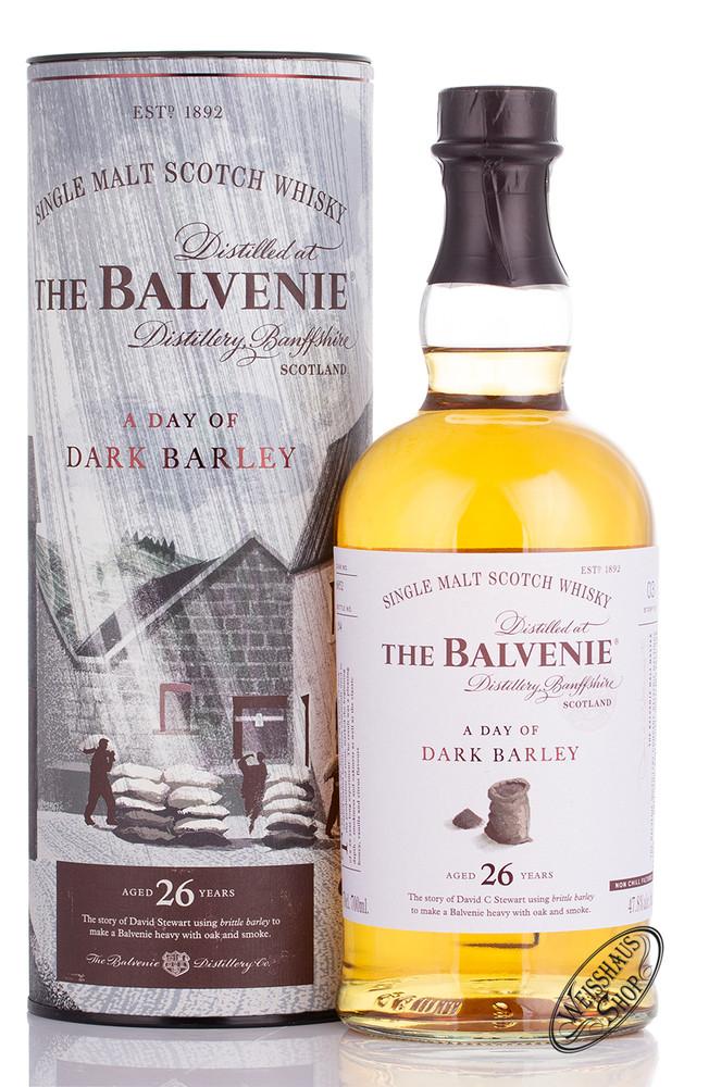 The Balvenie 26 YO Dark Barley Whisky 47,8% vol. 0,70l