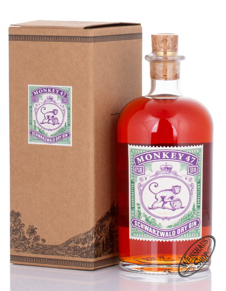 Monkey 47 Barrel Cut Dry Gin 47% vol. 0,50l