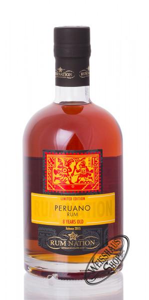Rum Nation Peruano 8 YO Rum 42% vol. 0,70l