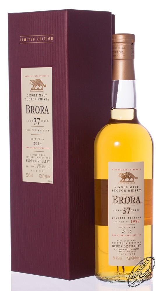 Brora 37 YO SR 2015 Whisky 50,4% vol. 0,70l