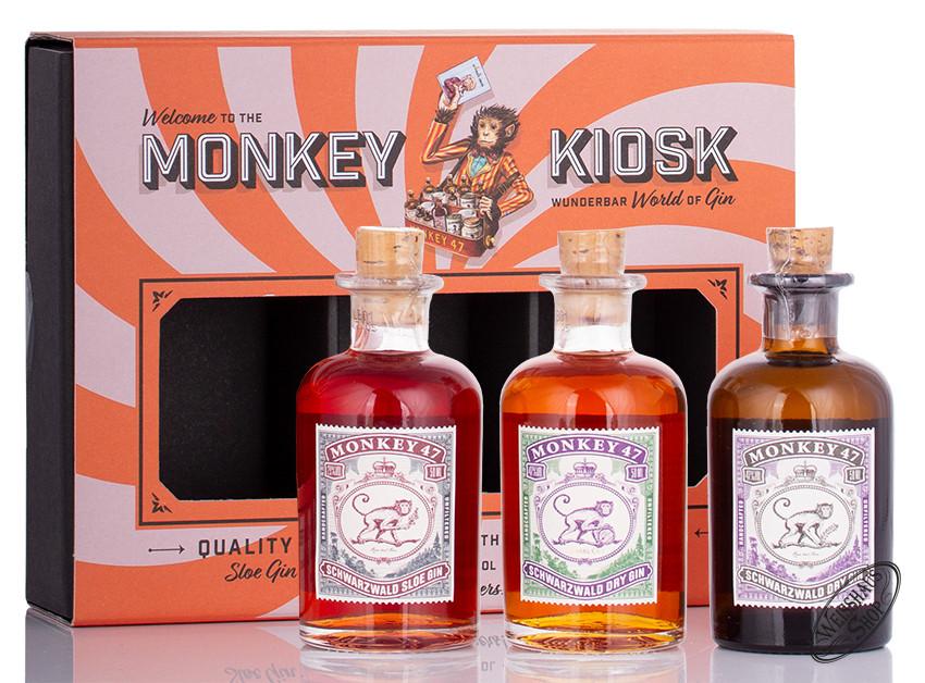 Monkey 47 The Monkey Kiosk 47% vol. 0,15l