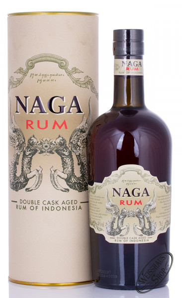Naga Indonesia Double Casked Aged Rum 40% vol. 0,70l