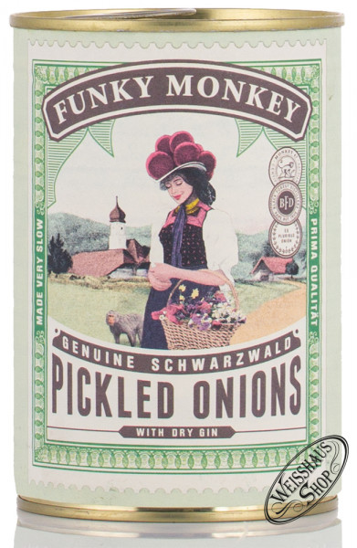 Monkey 47 Pickled Onions