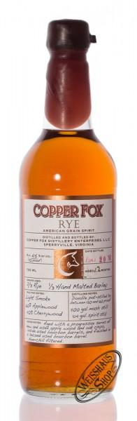 Copper Fox Rye Grain Spirit 45% vol. 0,70l