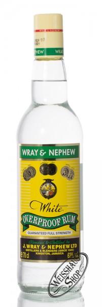 Wray & Nephew White Overproof Rum 63% vol. 0,70l