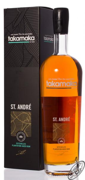 Takamaka Bay St. André Rum 8 YO 40% vol. 1,0l
