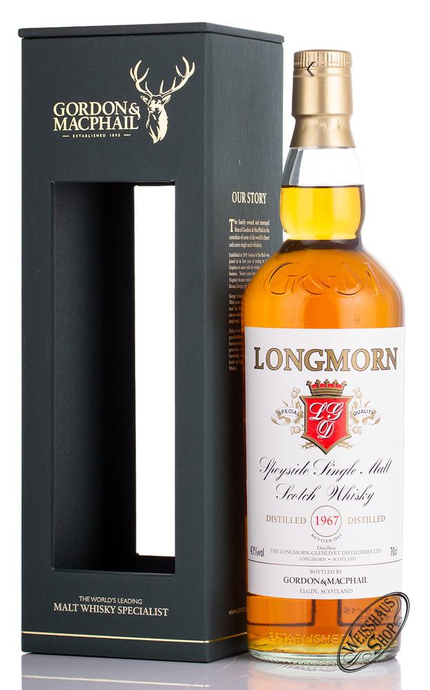 Longmorn Vintage 1967 Gordon & MacPhail Whisky 43% vol. 0,70l