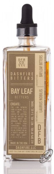 Dashfire Bay Leaf Bitters 38% vol. 0,10l