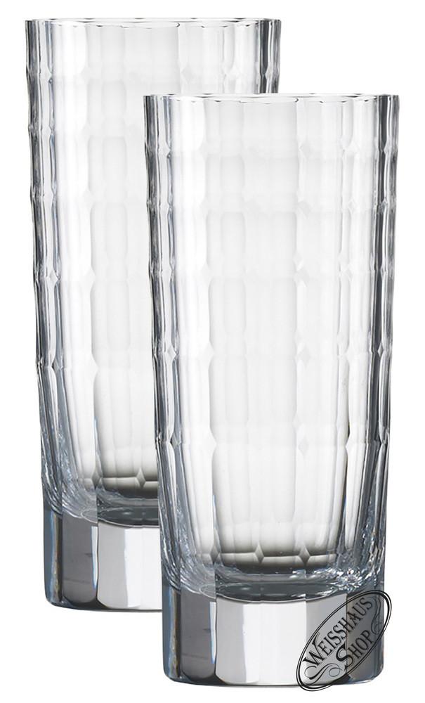 Zwiesel Kristallglas AG Schott-Zwiesel Hommage Carat Longdrink gro� Set 2 Gl�ser