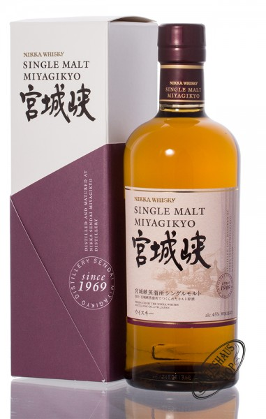 Nikka Miyagikyo Single Malt Whisky 45% vol. 0,70l