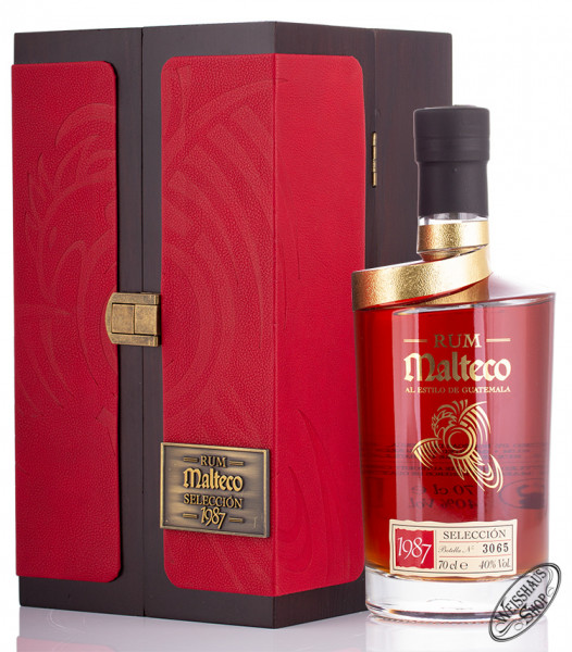 Malteco Vintage 1987 Rum 40% vol. 0,70l