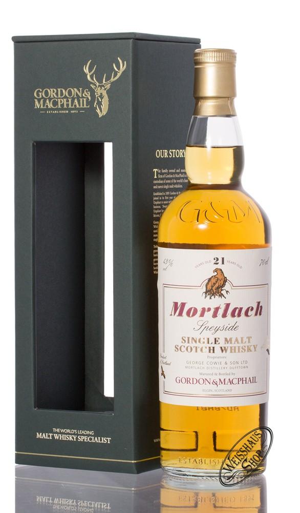 Mortlach Gordon & MacPhail 21 YO Single Malt Whisky 43% vol. 0,70l