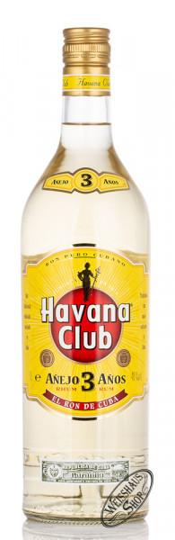 Havana Club Anejo 3 Anos Rum 40% vol. 1,0l