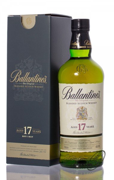Ballantine's 17 YO Blended Scotch Whisky 40% vol. 0,70l