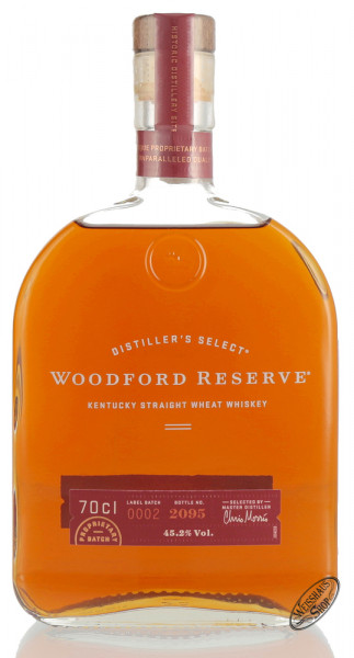Woodford Reserve Wheat Whiskey 45,2% vol. 0,70l