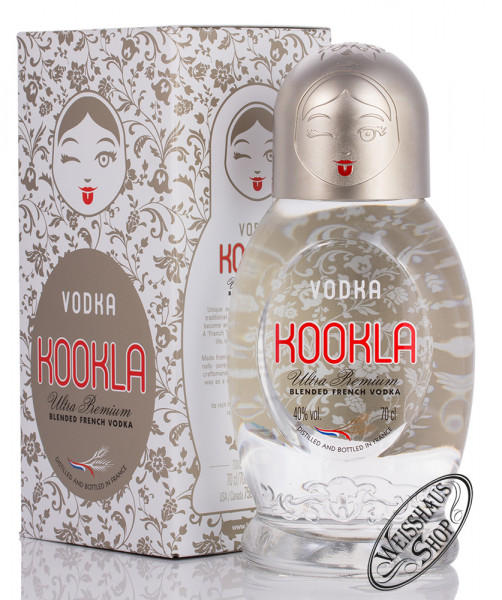 Kookla Vodka 40% vol. 0,70l