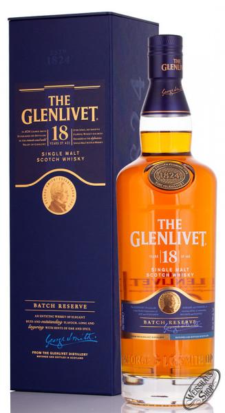 The Glenlivet 18 YO Single Malt Whisky 40% vol. 0,70l