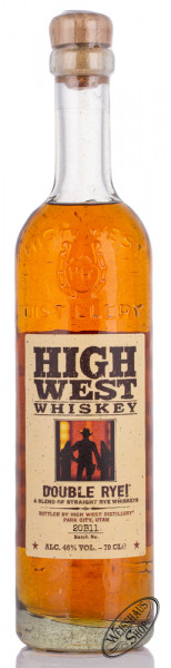 High West Double Rye 46% vol. 0,70l