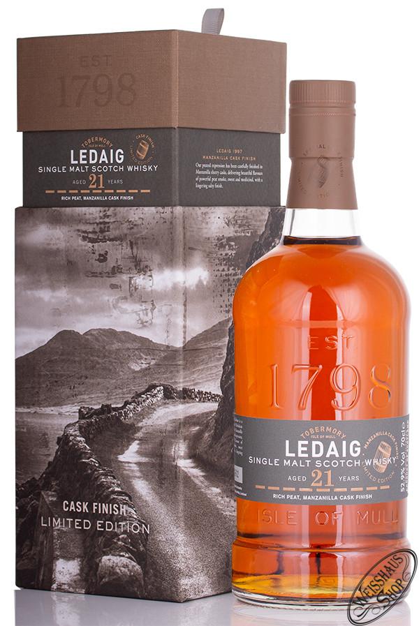 Tobermory Ledaig 1997 Manzanilla Finish Whisky 52,90% vol. 0,70l