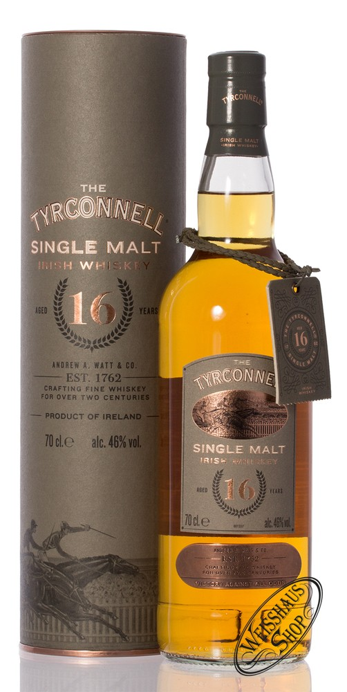 Tyrconnell 16 YO Single Malt Whiskey 46% vol. 0,70l