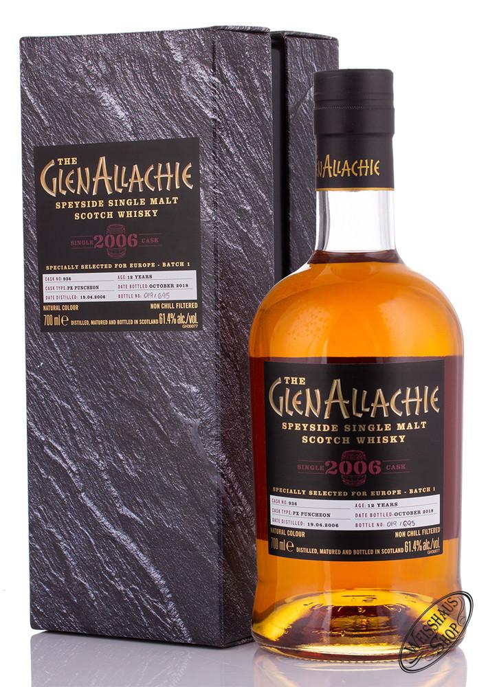 Glenallachie Distillers Co. Limited Glenallachie 2006 Single Cask Edition Whisky 61,4% vol. 0,70l