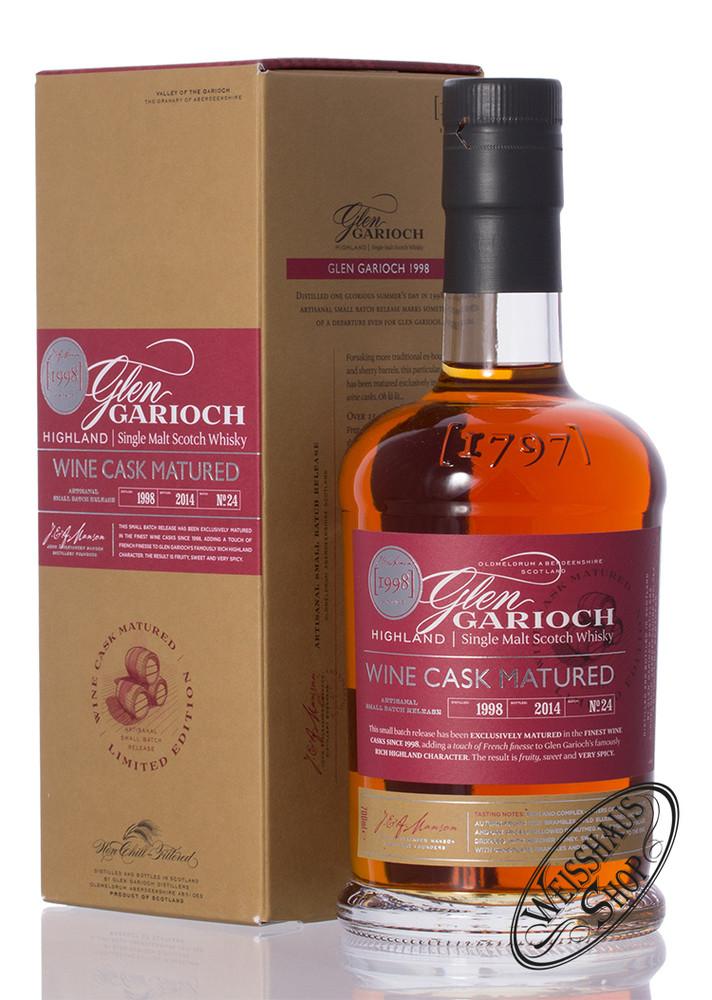 Glen Garioch 1998 Wine Cask Whisky 48% vol. 0,70l