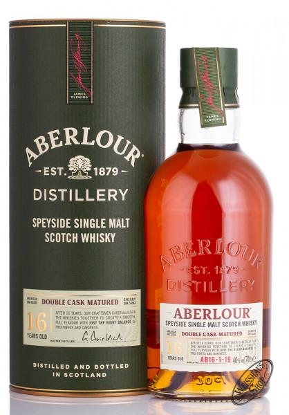 Aberlour 16 YO Single Malt Whisky 40% vol. 0,70l