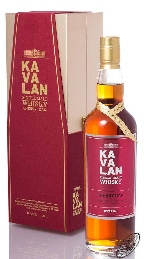 Kavalan Sherry Oak Single Malt Whisky 46% vol. 0,70l