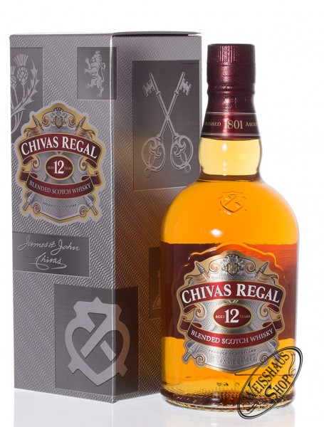 Chivas Regal 12 YO Blended Scotch Whisky 40% vol. 0,70l