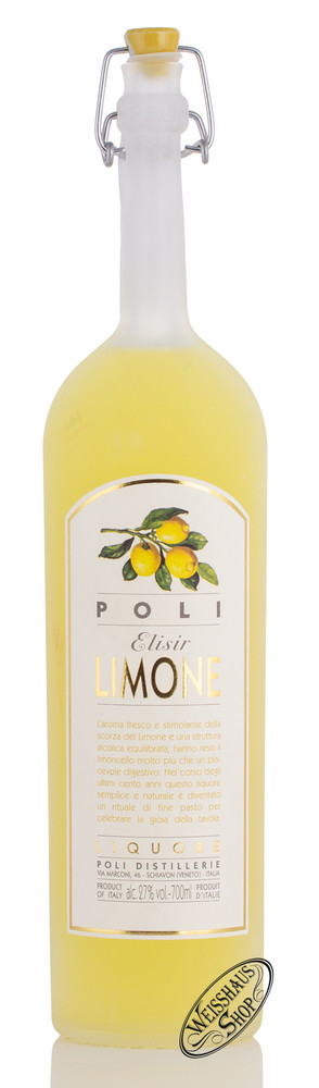 Jacopo Poli Poli Elisir Limone Zitronenlik�r 27% vol. 0,70l