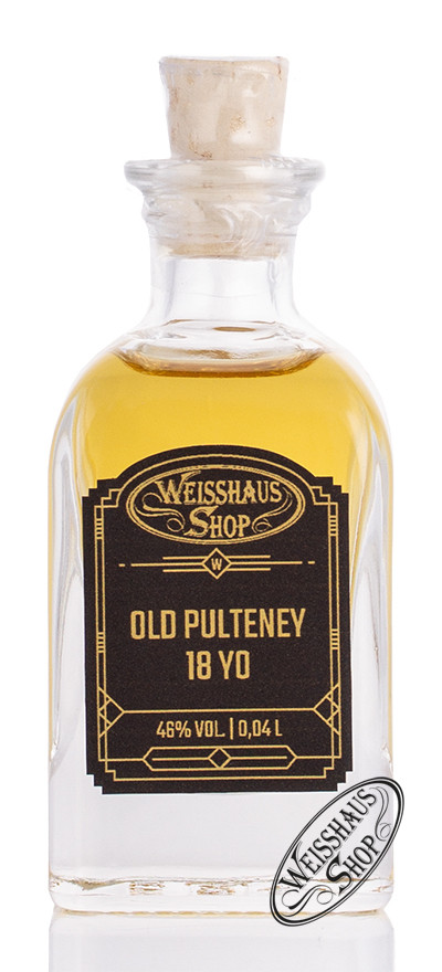 Old Pulteney 18 YO Whisky 46% vol. 0,04l Weisshaus Sample