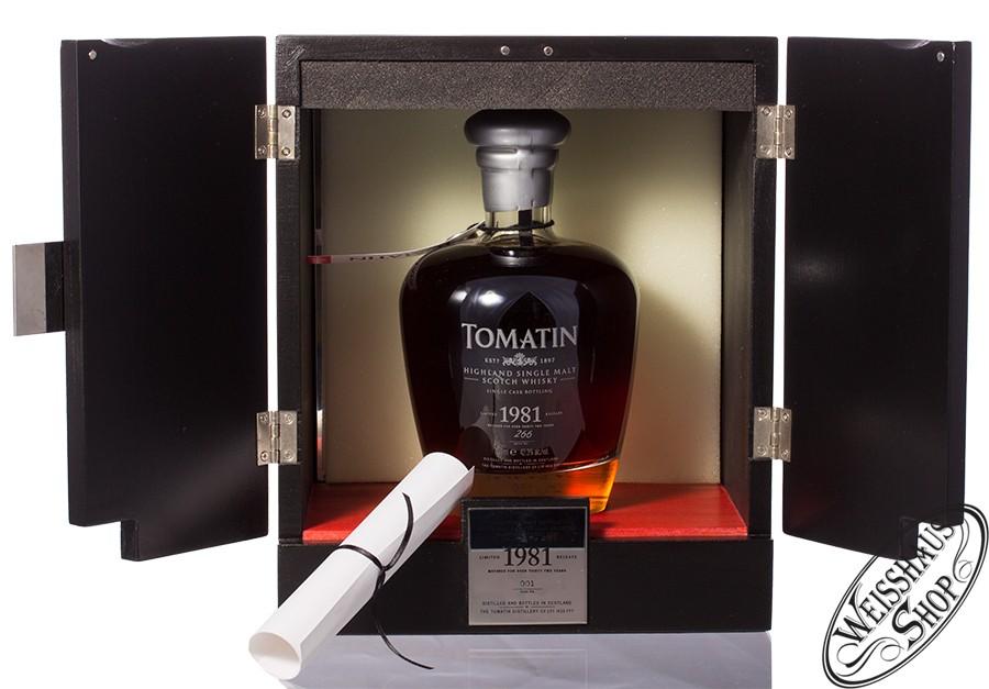 Tomatin Vintage 1981 Whisky 42,3% vol. 0,70l