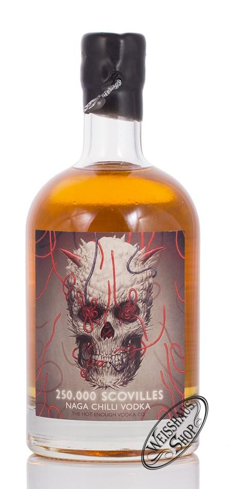 Atom Supplies Ltd. Naga Chilli Vodka 250.000 Scovilles 40% vol. 0,50l