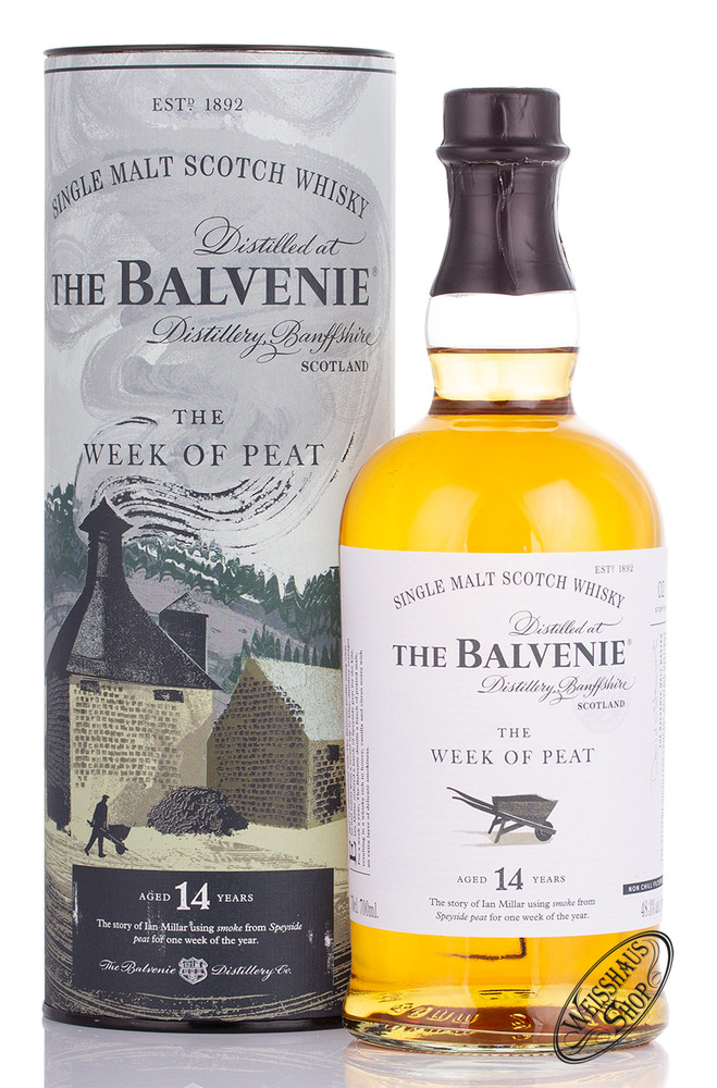 The Balvenie 14 YO Peat Week Whisky 48,3% vol. 0,70l