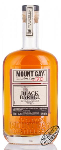 Mount Gay Black Barrel Rum 43% vol. 0,70l