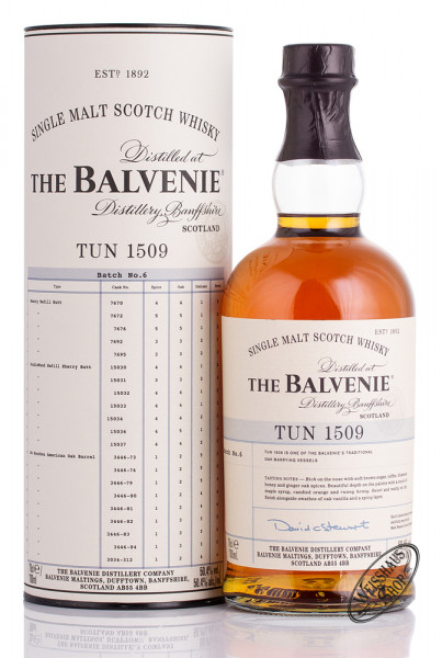 The Balvenie Tun 1509 Batch No. 6 Whisky 50,4% vol. 0,70l