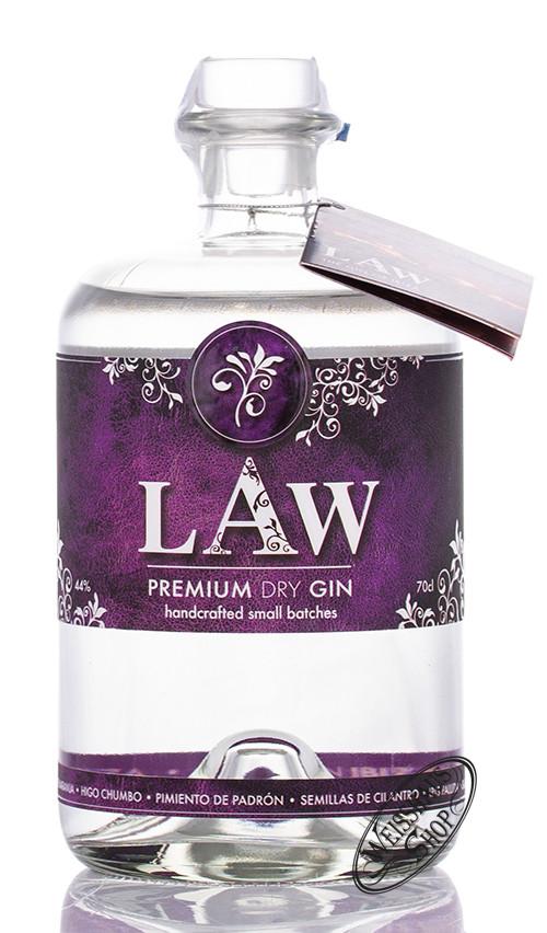 LAW - Spirit of Ibiza S.L. LAW Premium Dry Gin Ibiza 44% vol. 0,70l