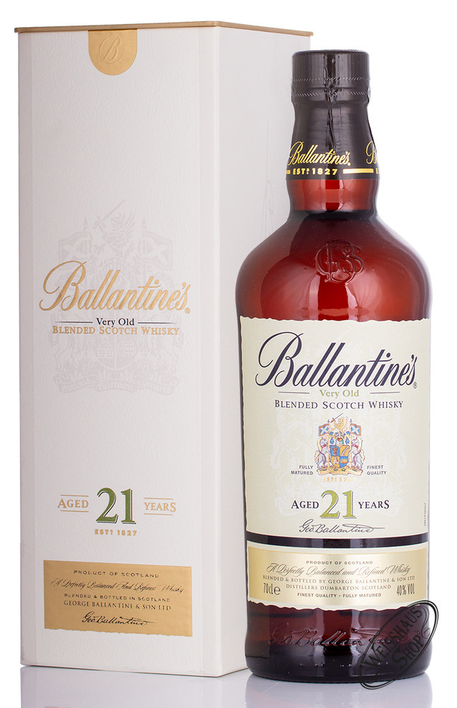 Ballantine's 21 YO Blended Scotch Whisky 43% vol. 0,70l