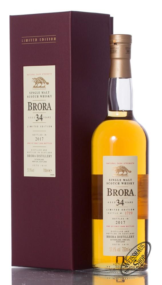 Brora 34 YO SR 2017 Whisky 51,9% vol. 0,70l